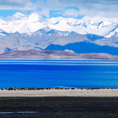 Karakul Lake at 3,900m - Tajikistan